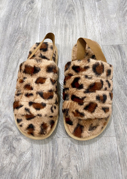 Leopard Slippers - Shop Nikki