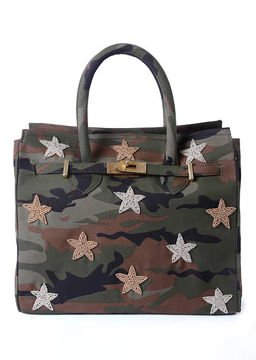 Beaded Star Tote - Shop Nikki