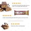 Keto Fat Bomb Meal Replacement Bar Chocolate Chip Cookie Dough-marketing carousel image