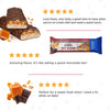 Keto Fat Bomb Meal Replacement Bar Nutty Caramel and Nougat-marketing carousel image