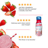 Strawberries and Cream marketing copy image- product packaging carousel image