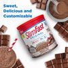 SlimFast Original Shake Mix Creamy Milk Chocolate, marketing copy- product packaging carousel image