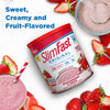 SlimFast Original Shake Mix Strawberries and Cream, marketing copy- product packaging carousel image
