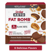 Keto Fat Bomb Meal Replacement Bars, available in 6 flavors- product carousel image