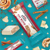 Keto Fat Bomb Meal Replacement Bar Frosted Cinnamon Bun- marketing carousel image