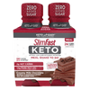 SlimFast Keto Meal Shakes to Go Creamy Milk Chocolate- product packaging carousel image
