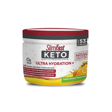 SlimFast Keto Ultra Hydration+- product packaging carousel image