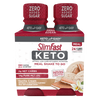 SlimFast Keto Meal Shakes to Go Vanilla Cream- product packaging carousel image