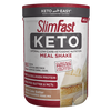 SlimFast Keto Shake Mix Vanilla Cake Batter- product packaging carousel image