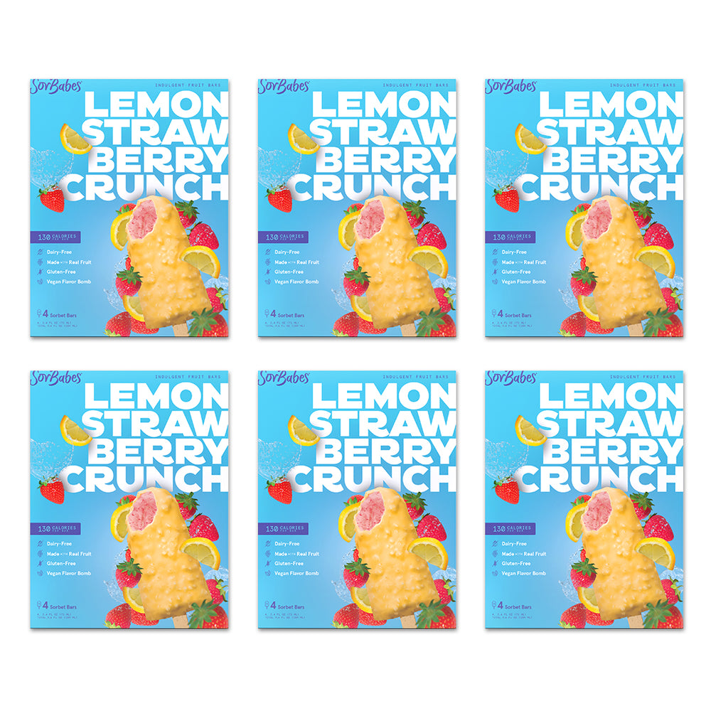 LEMON STRAWBERRY CRUNCH 6 PACK