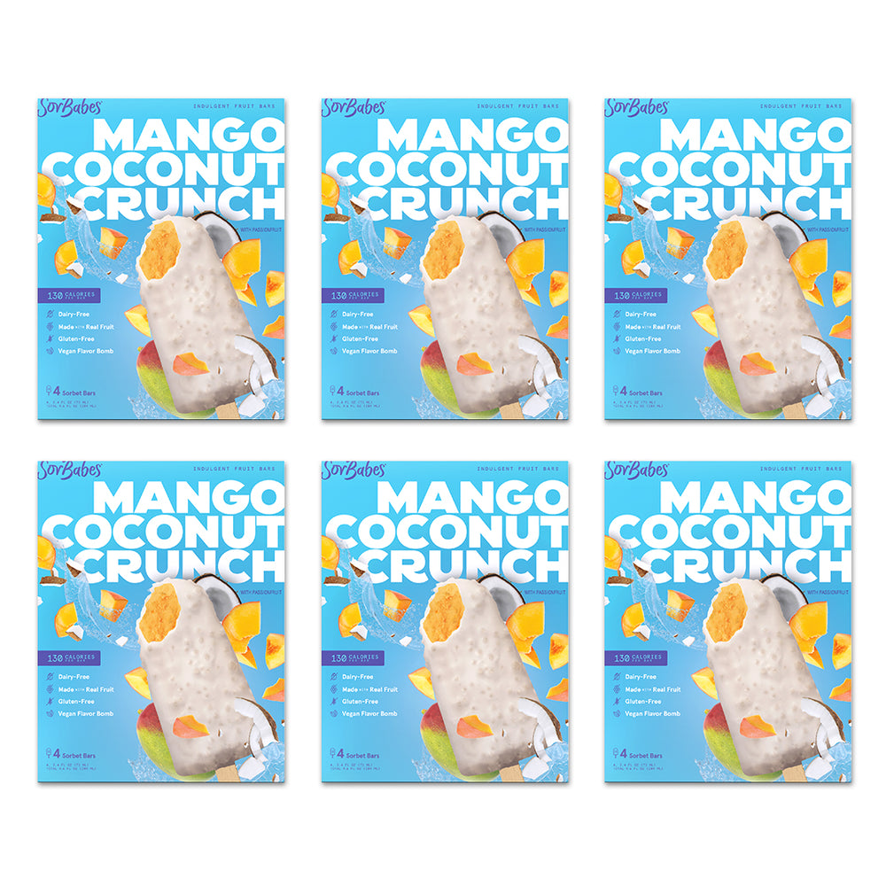 MANGO COCONUT CRUNCH 6 PACK
