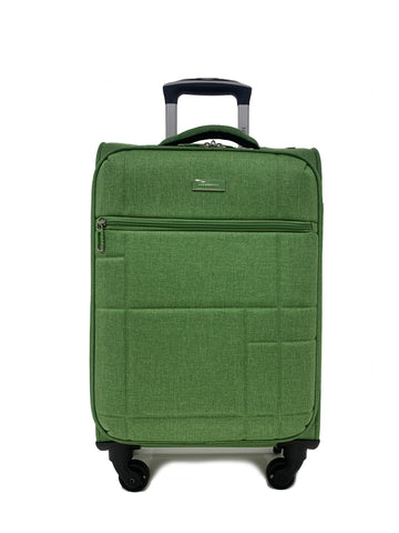 "San Michelle Denim Flyer 20"" Suitcase"