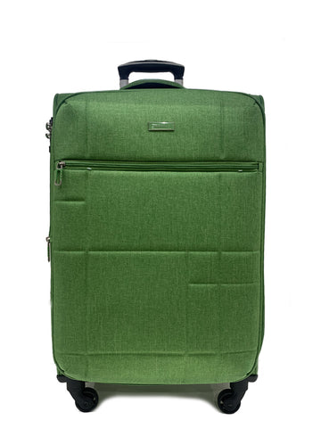 "San Michelle Denim Flyer 24"" Suitcase"