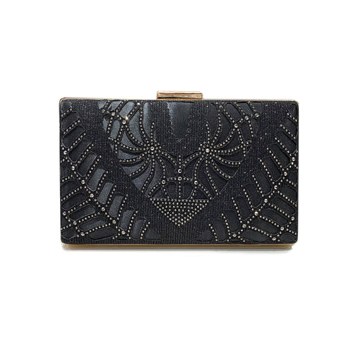 Art Deco Hard Clutch Bag