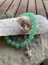 Load image into Gallery viewer, Aventurine Turtle Stretch Bracelet