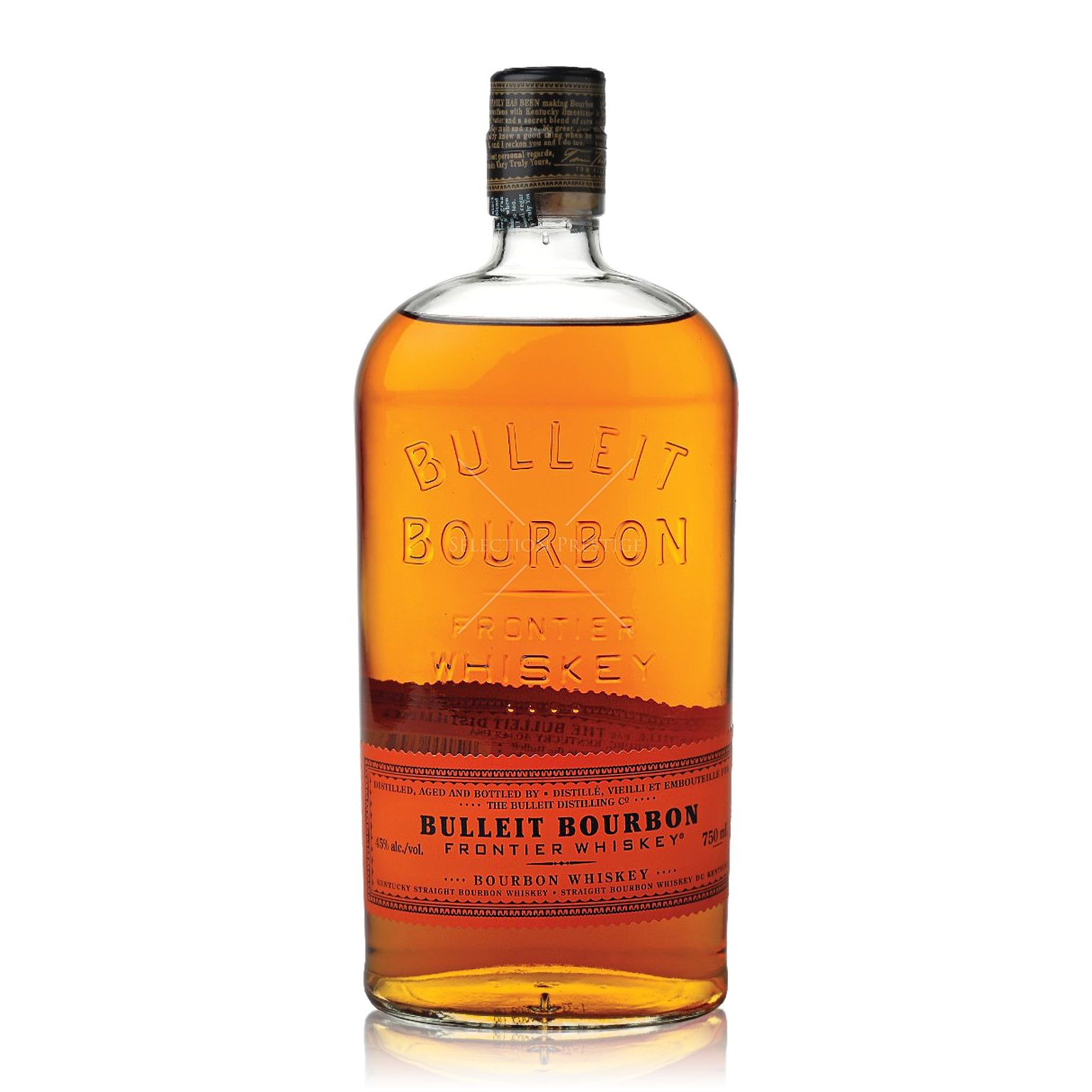 BULLEIT Frontier Whiskey 45% - 70cl