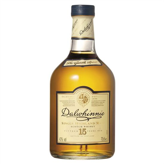 DALWHINNIE 15 ans  43° - 70cl