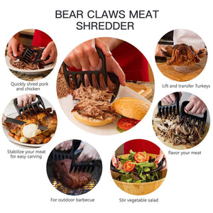 🎁Christmas Promotion🎄【50% OFF & BUY 1 GET 1 FREE】Bear Claw Shape Barbecue Forks Meat Shredder Claws