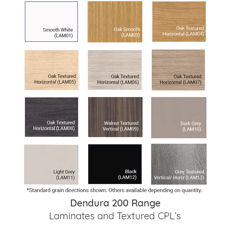 DURA-202 Flush Laminate Door