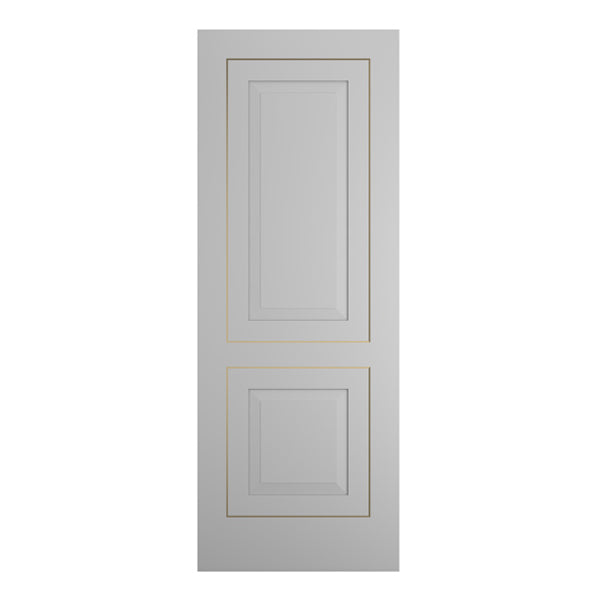 MOD-502 Flush Grooved and Inlay Door