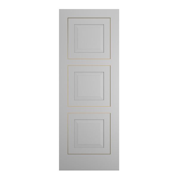 MOD-503 Flush Grooved and Inlay Door
