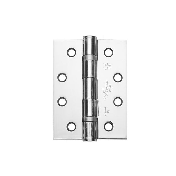 102x76mm Grade 13 FD30/60 Fire Rated Ball Bearing Hinge