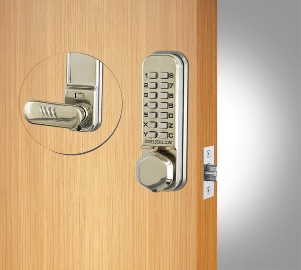 Premium quality push button digital lock, Knob operated