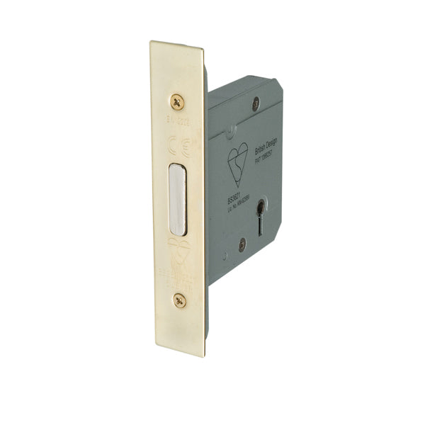 5 Lever BS3621 Mortice Deadlock
