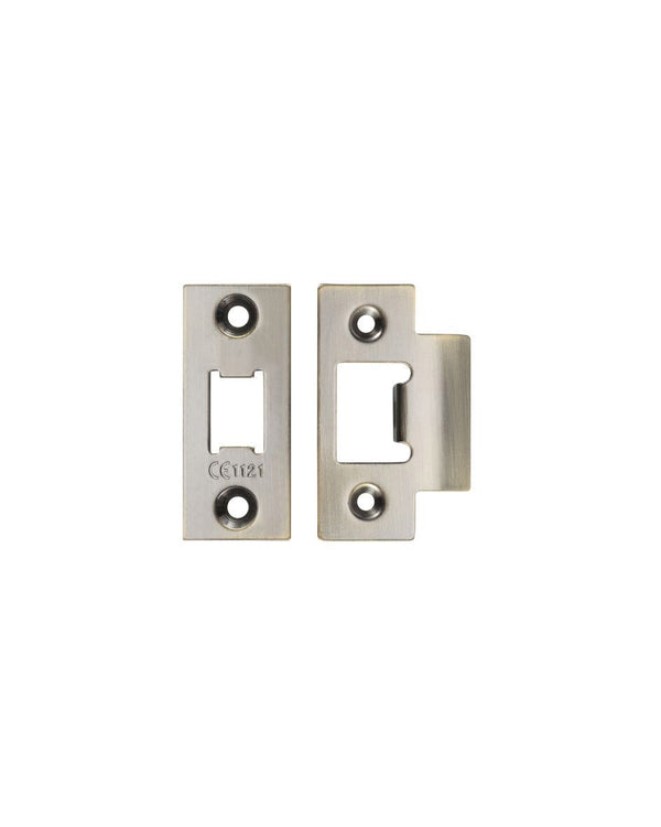 Heavy Duty Double Sprung Latch Face Plate