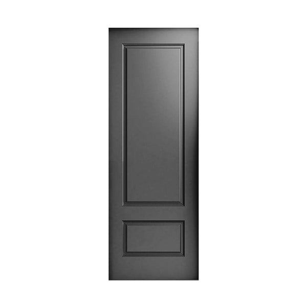 LAC-607 Flush Grooved Two Panel Door