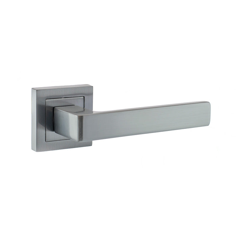LR355 Lever door handle on square rose