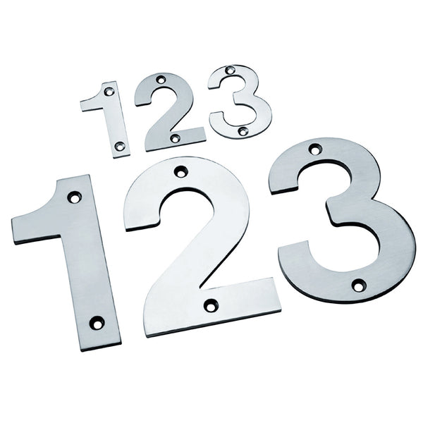 75mm Screw Fix Numeral