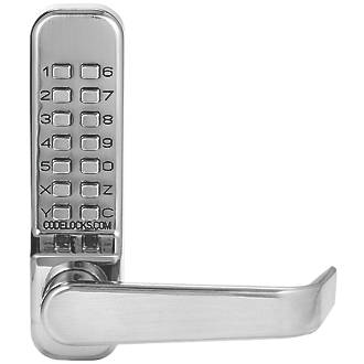 Premium quality push button digital lock, Lever operated