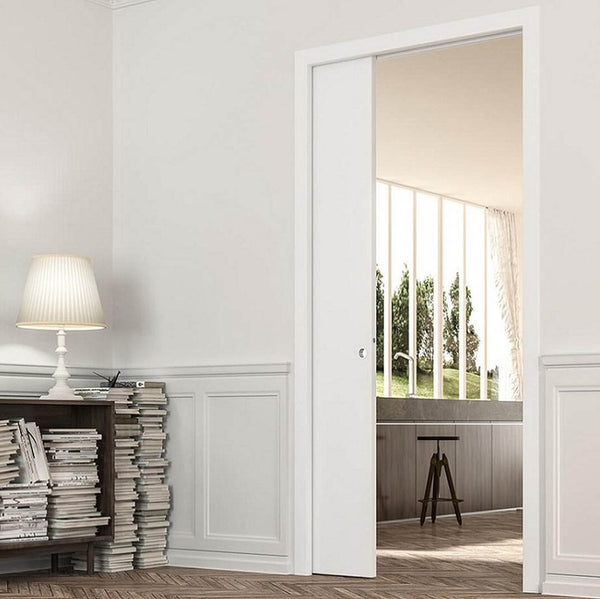 Eclisse Classic Single Pocket Door System - 626x2040mm - 100mm Wall Thickness
