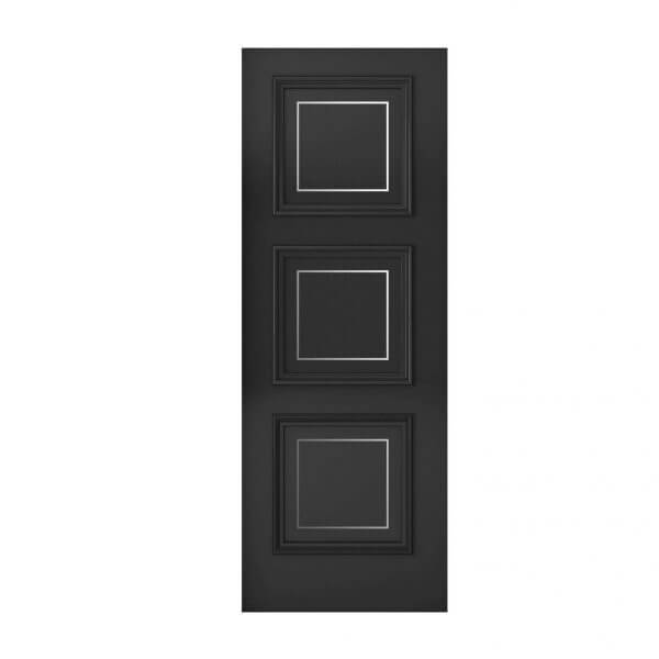 TRAD-641 Inlaid 3 Panel Door