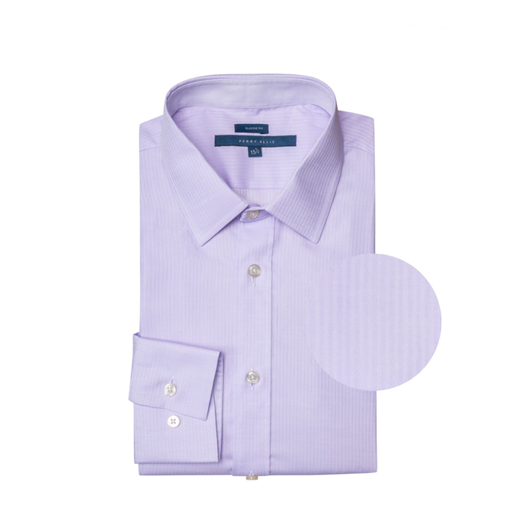 Camisa Formal Lila Perry Ellis - CC01005