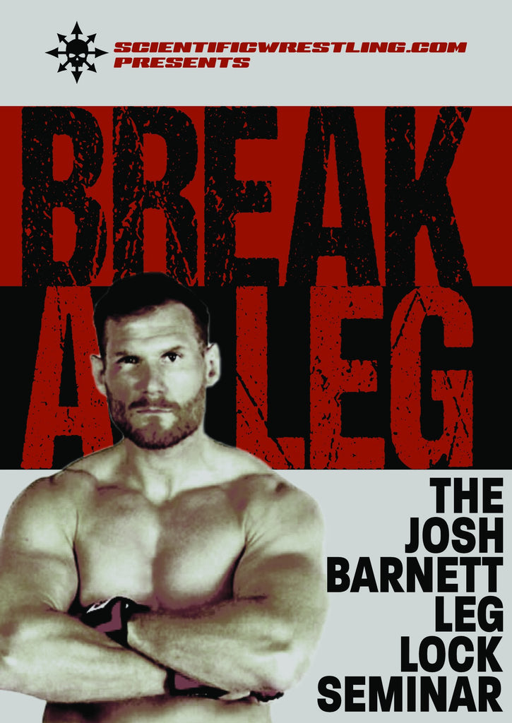 Break Legs with Josh Barnett 😱 and Kit Dale Masterclass series DVDs: Z Guard, Passing and the Art of Learning.