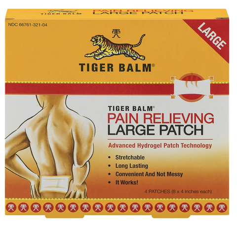 Tiger Balm Pain Relief for Martial Arts