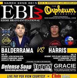 Balderrama vs Harris fightcard
