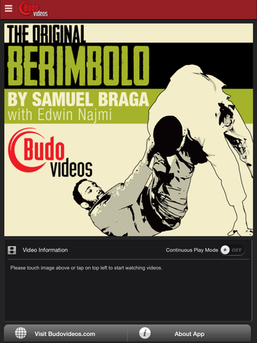 the orignal berimbolo app - iphone main title image