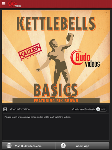 Kettlebell Basics with Rik Brown - main title screen image