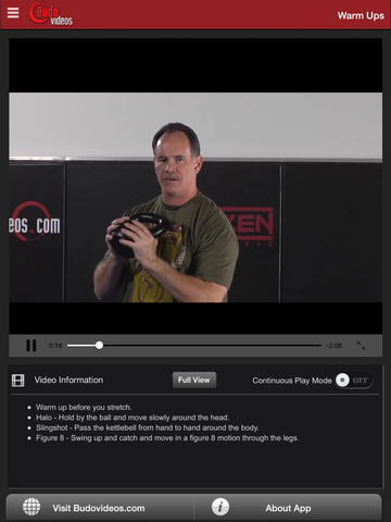 Kettlebell Basics with Rik Brown - ipad chapter action image