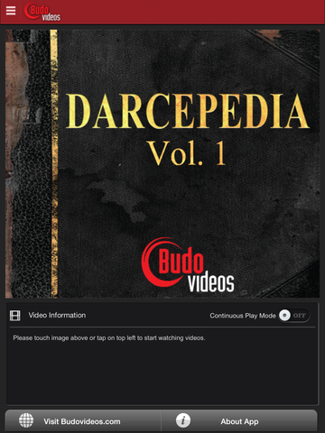 Darcepedia Vol 1 with Jeff Glover - main title screen image