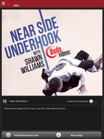 Near Side Underhook Pass by Shawn Williams - ipad main title screen image