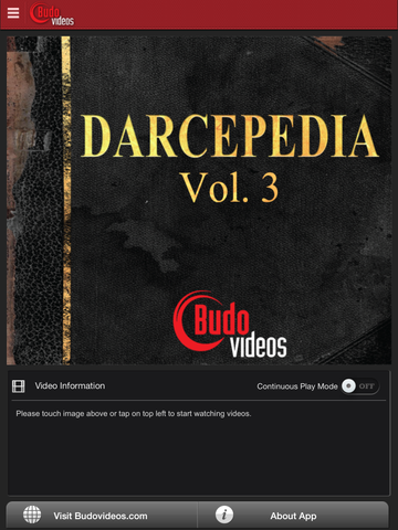 Darcepedia Vol 3 with Jeff Glover - main title screen image