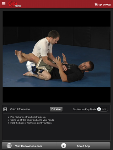 Nogi Sweeps by Chris Brennan - ipad chapter action image