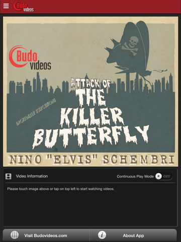 Killer Butterfly BJJ Sweeps by Nino Schembri - ipad main title screen image