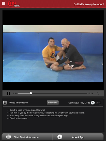 Killer Butterfly BJJ Sweeps by Nino Schembri - ipad chapter action image