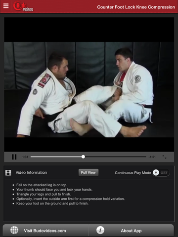 Escapes and Other Leg Locks by Dean Lister - ipad chapter action image