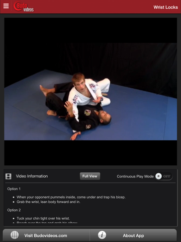Breakthrough Jiu Jitsu Concepts Vol 3 - ipad chapter action image
